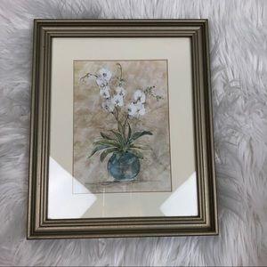 White Orchids Framed Artwork Print Floral Target